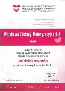 2018-03-27 podziękowania